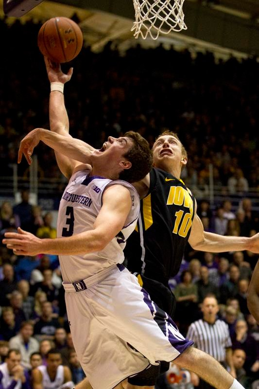 Sophomore guard Dave Sobolewski led Northwestern with 21 points in their loss to Nebraska. Soboloweski was one of just two Wildcats in double figures.