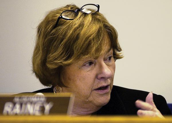 Ald. Ann Rainey (8th) faces no challengers in her run for re-election in the April election. Rainey's competitor, Thomas Just, dropped out days after a false news report that his candidacy would be challenged.