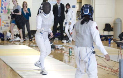 Fencing: Freshmen foil squad save Wildcats from Cardinal