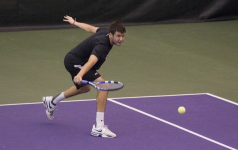 Men's Tennis: Northwestern tops Notre Dame, remains undefeated