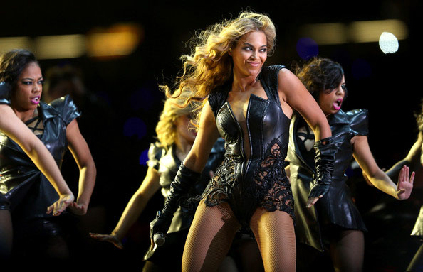 The Ravens won the game on the field, but all eyes were on Beyonce's halftime show at Sunday's Super Bowl.