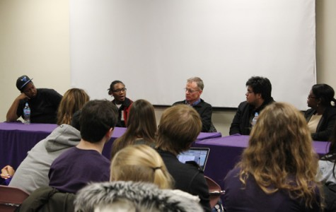 Sheil Catholic Center and Chicago Coalition for the Homeless co-sponsored a panel Wednesday featuring homeless and formerly homeless youth who spoke about their experiences. The event was meant to engage Northwestern with the homeless community.