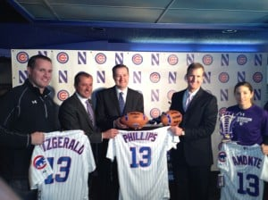 Updated: Northwestern announces five-year athletic partnership with Chicago Cubs