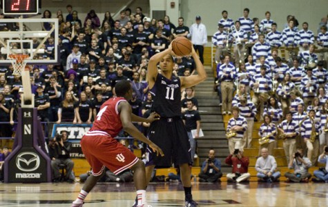 Men's Basketball: Northwestern hangs with Ohio State but falls short