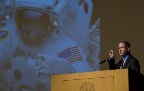 Former NASA astronaut shares experiences in space