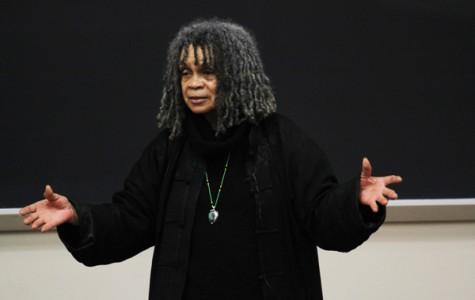Poet Sanchez advocates peace, activism at Leon Forrest talk