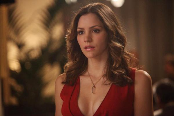 "Katharine McPhee is one of the characters of ""Smash."" McPhee plays Karen, a singer who's fighting for the part of Marilyn Monroe."