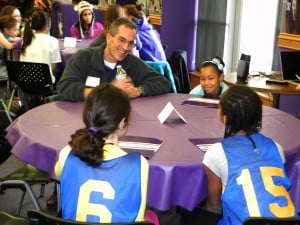 ESPN journalist, Northwestern athletic community celebrate National Girls and Women in Sports Day