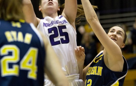 Women's Basketball: Northwestern improves, but falls to Michigan for second time