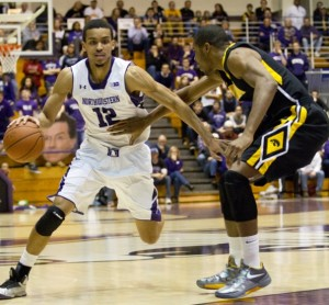 Men's Basketball: Northwestern's leading rebounder Swopshire out for the season with a knee injury