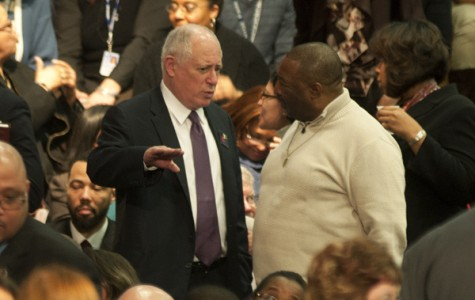 Gov. Quinn proposes pension reform, education cuts in budget address