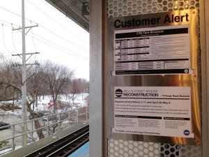CTA begins first disruption to Purple Line Express, other lines