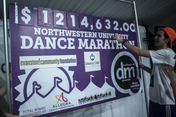 Dance Marathon set another fundraising record, raising more than $1.2 million for the Danny Did Foundation and the Evanston Community Foundation.