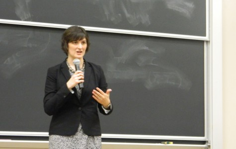 Social justice advocate Sandra Fluke shared her long list of hopes for the post-2012 political environment at a College Democrats-sponsored talk Monday night in Fisk Hall.