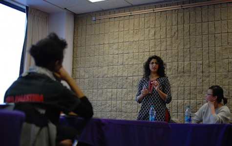 African Americans Studies Prof. Natasha Sharma spoke Thursday night about the importance of ethnic studies as part of a panel hosted by the Native American and Indigenous Student Alliance, Alianza and For Members Only.