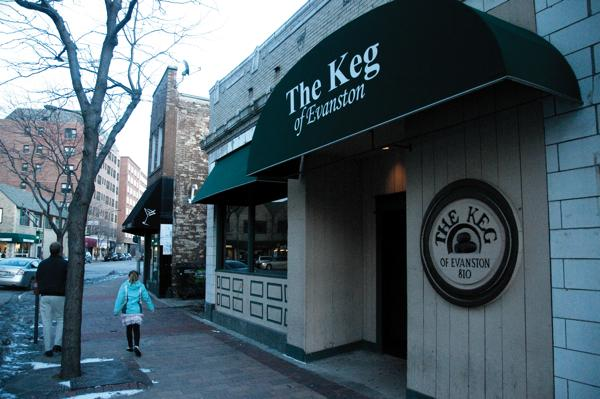 The Keg of Evanston will close permanently on Sunday after the popular bar's lease was not renewed.