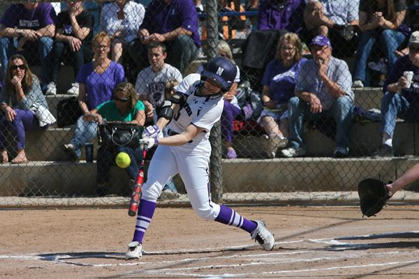 Andrea DiPrima is second on the Wildcats with a .383 batting average. The sophomore has played in 17 of Northwestern's 19 games this season.