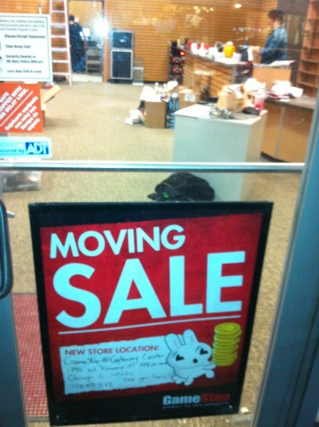 The GameStop store in downtown Evanston closed Sunday as part