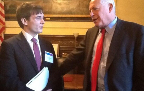 Evanston, Northwestern officials talk gun control, student aid during Springfield trip