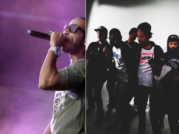 A&O announced that rapper Ludacris, left, and the hip-hop group Two-9, right, will perform at the A&O Ball next Saturday.