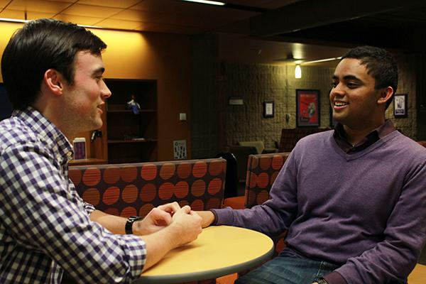 Ani Ajith (right) and Alex Van Atta are the most qualified candidates for ASG president and executive vice president.
