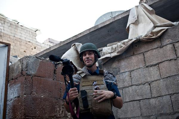 James Foley (Medill '08) was captured Nov. 22 in Syria near the country's border with Turkey. His family has not heard from him or his captors since the kidnapping.