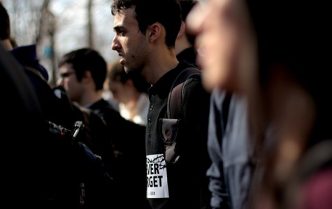 Northwestern students gather to remember the Holocaust more than 70 years later