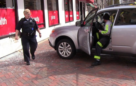 Updated: Woman drives van into downtown Evanston CVS
