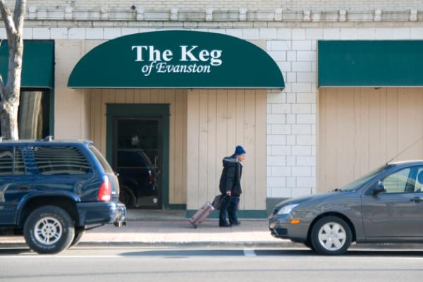 The Keg of Evanston, 810 Grove St., closed its doors for the last time Sunday after 36 years in business.