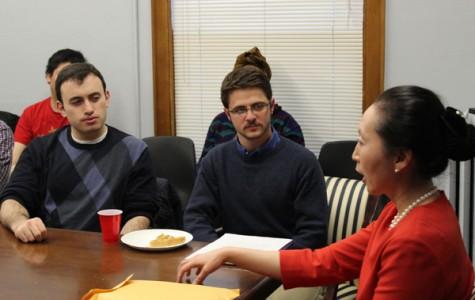 Students discuss North Korean history, politics