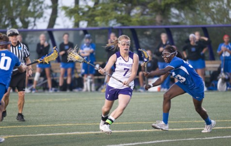 Northwestern attacker Erin Fitzgerald leads the Wildcats with 32 goals this year. The senior has taken 70 shots this season with 54 of them going on goal.