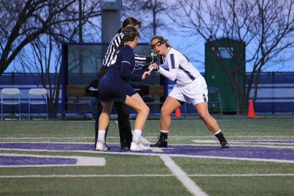 Northwestern midfielder Alyssa Leonard won 5 draw controls against Duke on Friday to secure the school-record for most draw controls in a career. The junior secured 3 more draw controls on Sunday to extend her record to 272 draw controls in less than three seasons.