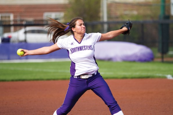 Northwestern sophomore Amy Letourneau won both the Louisville Slugger/NFCA and USA Softball College player of the week honors for the week of March 25-31. Letourneau no-hit Minnesota in a 6-2 win Friday and hit .750 for the weekend.