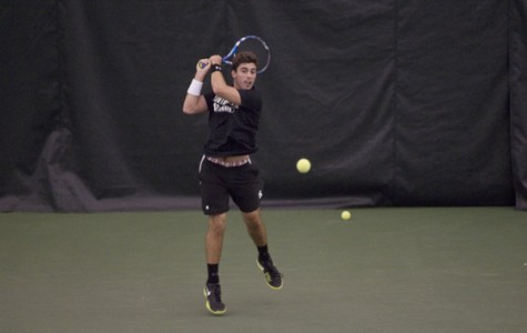 Men's Tennis: Northwestern preps for Michigan test