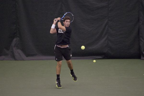 Northwestern's Raleigh Smith has posted a 12-5 record in doubles this season, but has gone 1-4 since the start of Big Ten play.