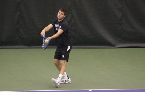 Men's Tennis: Northwestern falls just short of Illinois upset