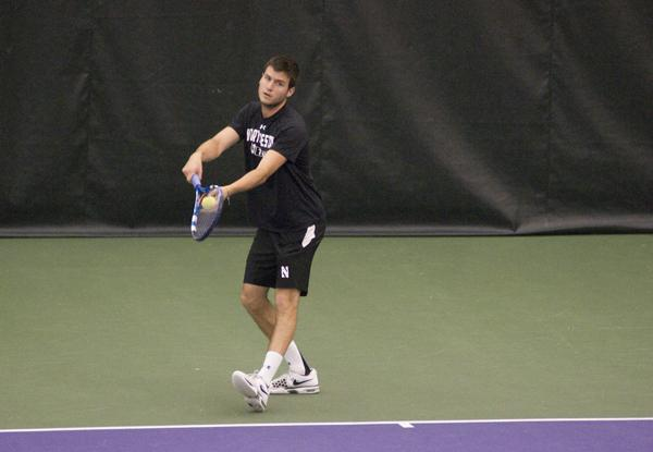 Northwestern tennis player Raleigh Smith was one of the two Wildcats named to the All-Big Ten first team. The senior was joined by classmate Spencer Wolf on the team, becoming the first two NU players to earn the distinction since 2006.