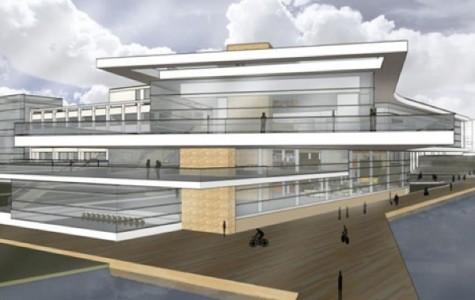 Northwestern previews new student center