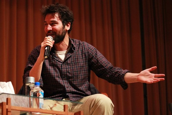 """How I Met Your Mother"" actor Josh Radnor shares a story with the sold-out crowd on Thursday night. Radnor was this year's annual Hillel speaker."