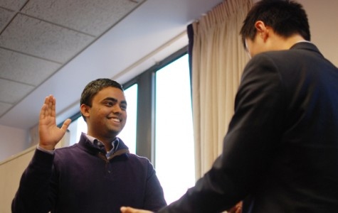 Associated Student Government swears in student body-elected executive board members