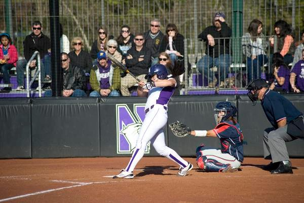 Northwestern third baseman Marisa Bast leads the team with seven home runs and 26 RBI this season. The junior has started all 30 games for the Wildcats and is hitting .295 this year.