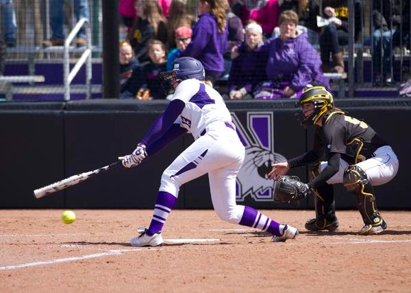 Northwestern outfielder Olivia Duehr went 2-for-3 and scored 4 times in NU's 17-14 win over Penn State on Saturday. The sophomore also hit a home run in Friday's 8-3 win over the Nittany Lions.