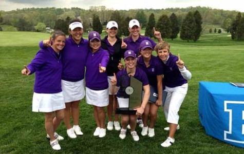 Northwestern won its first Big Ten title this weekend in French Lick, Ind. The Wildcats tied with Purdue at 20-over-par to beat the nearest competitor by 5 shots.
