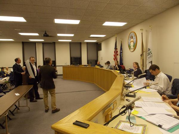 The Evanston Zoning Board of Appeals shot down a proposed bed-and-breakfast by local billionaire James Pritzker at a meeting Tuesday night. The matter will now go before Evanston's City Council.