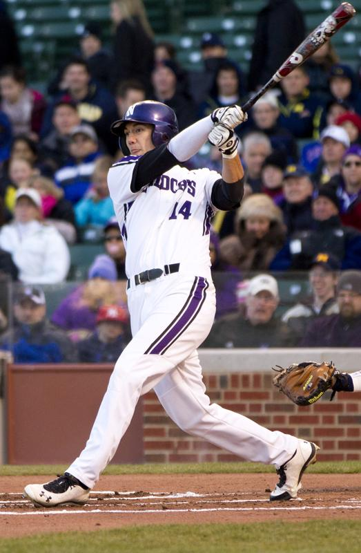 Redshirt+senior+Zach+Morton+has+a+team-best+31+RBIs+this+season.+The+Evanston+native+said+above+all%2C+he+will+miss+being+around+his+teammates+when+he+graduates+Northwestern.
