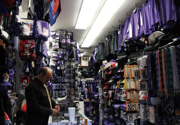 Best place to get Northwestern gear: Campus Gear