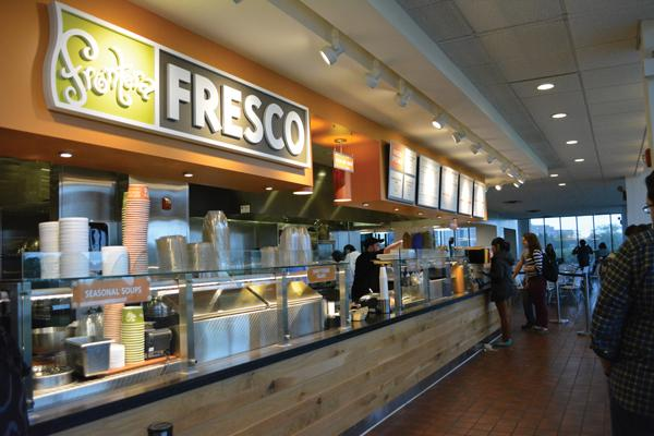 Best on-campus place to eat: Frontera Fresco