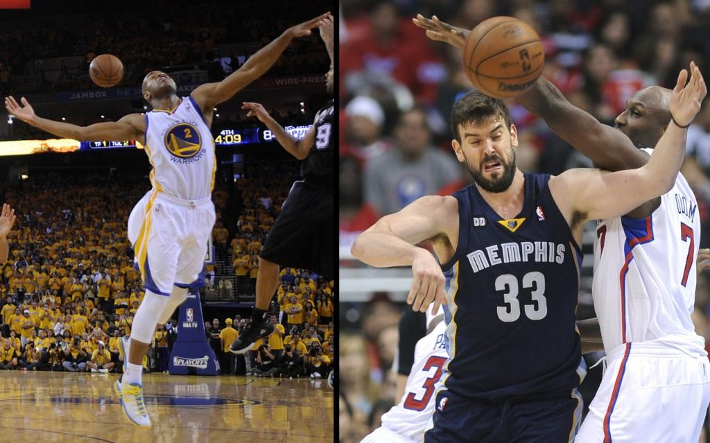 While the Warriors (left) and Grizzlies (right) sport relatively new duds, they may not be living up to their full potential.