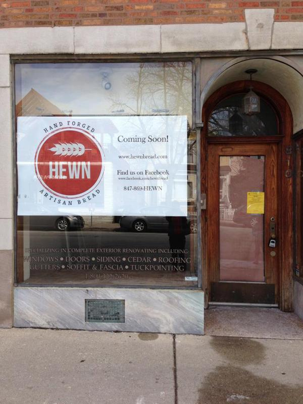 Artisan bread bakery Hewn will open in June at 810 Dempster St. Its owner attended the Seattle Culinary Academy.