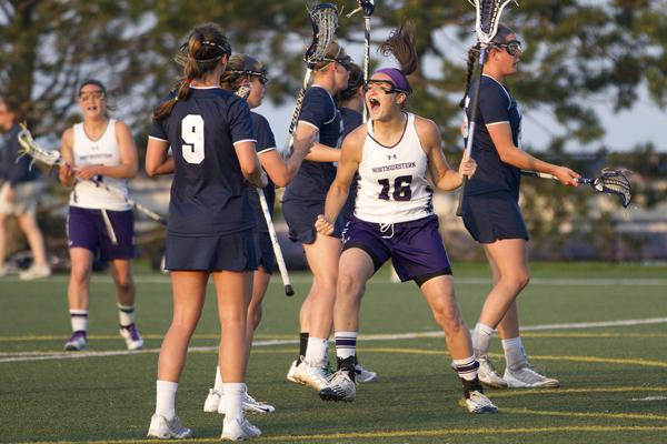 Northwestern midfielder Ali Cassera is trading in her lacrosse stick for a basketball next academic year. The senior will use her fifth year of eligibility to play basketball at Division III Montclair State next fall.